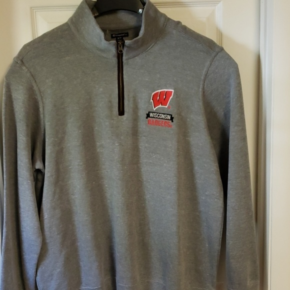 Champion Other - NWOT - Wisconsin Badgers 1/4 Zip Pullover